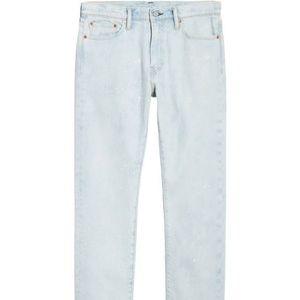 Mens Levis 513 Super light wash Jeans Bleached
